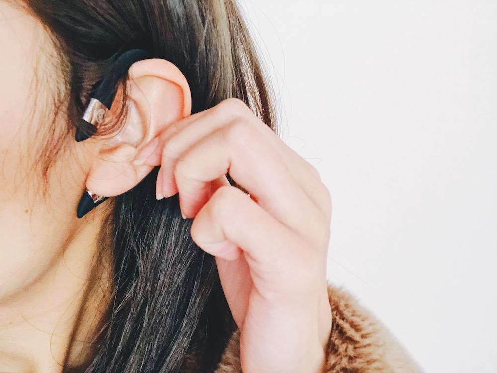 かける 器 美顔 に 耳